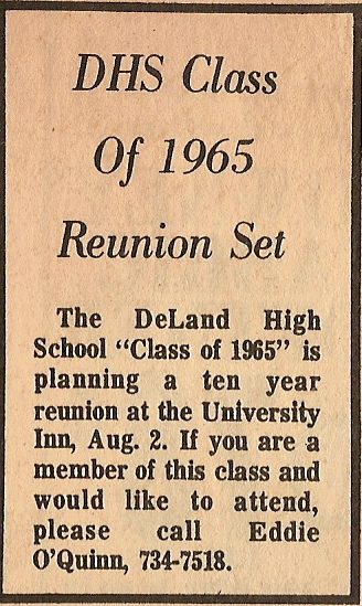 1975 10th reunion Article