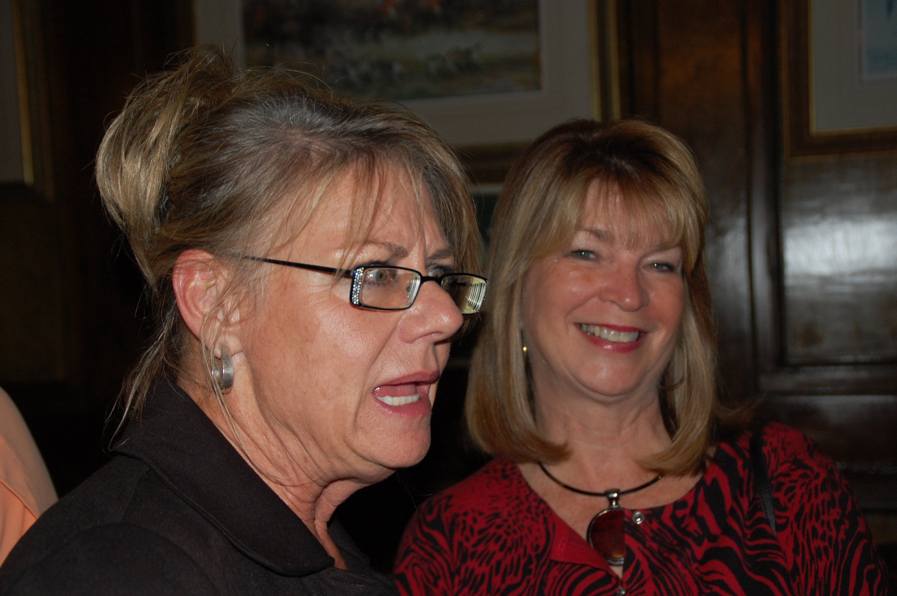Leslie Peck Whalen & Jan Caldwell Ford