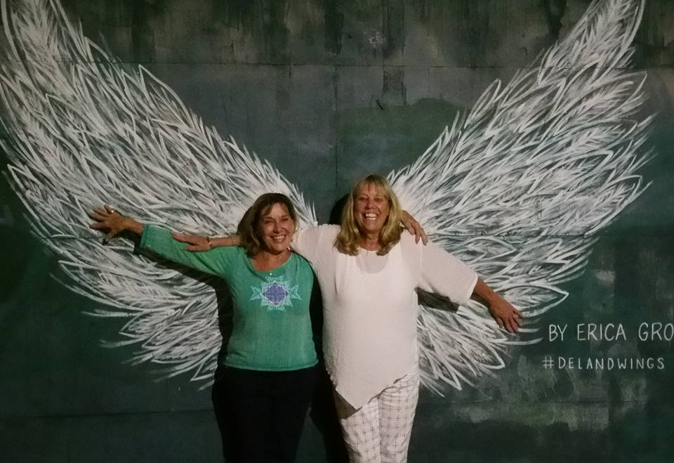 Michele & Juliet Deland Angle wings